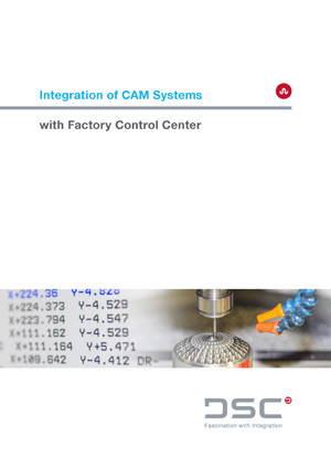 CAM Integration to Factory Control Center
