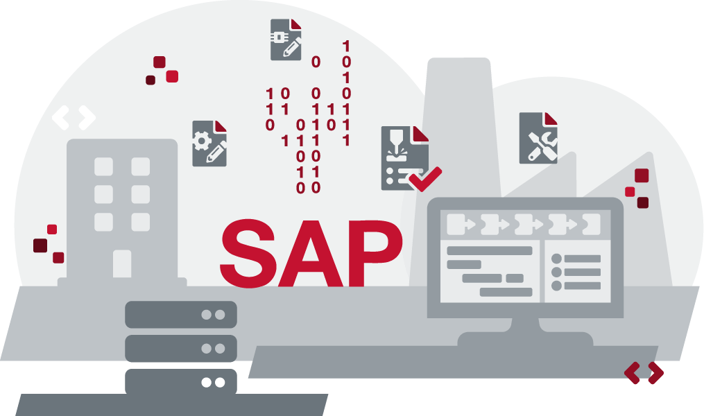 Consistent data and processes in SAP