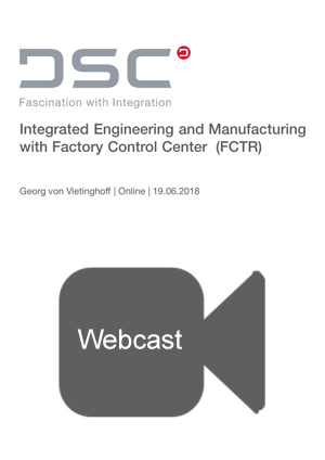 Integrated Engineering and Manufacturing Webcast