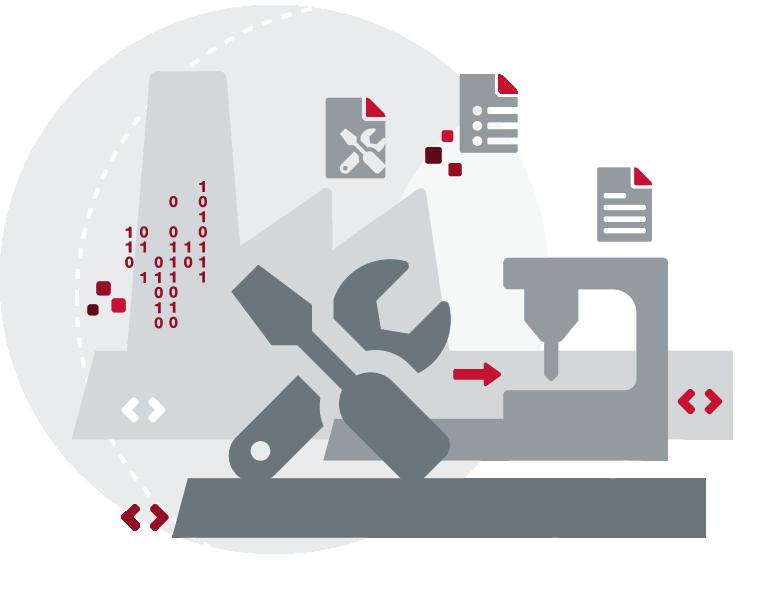 SAP-integrierte DNC-Verwaltung mit Factory Control Center FCTR