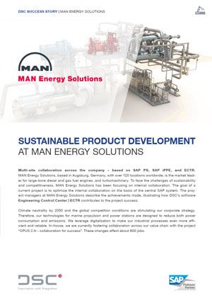 DSC Success Story – MAN Energy Solutions